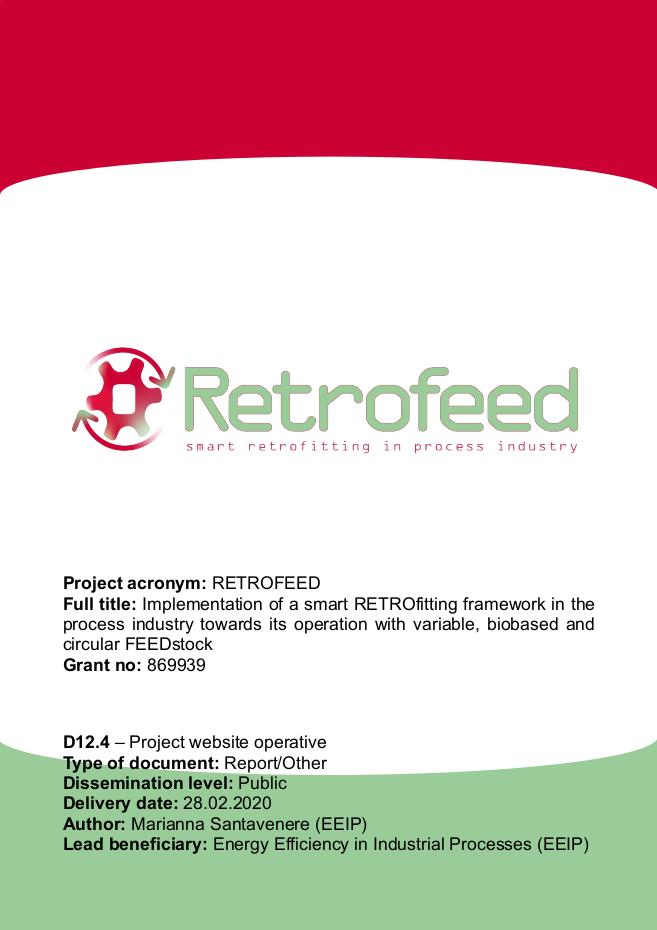 RETROFEED website